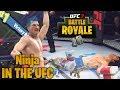 NINJA! Fortnite Legend Tries The UFC! Easy LOOT! EA Sports UFC 3 Online Gameplay