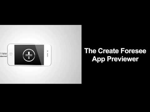 Create Foresee Cre84c App Previewer Commercial