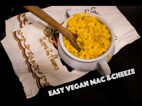 Easy Vegan Mac and Cheese Recipe