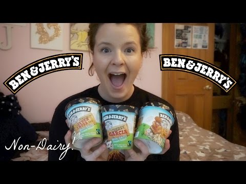 NEW Ben and Jerrys Non-Dairy Ice Cream