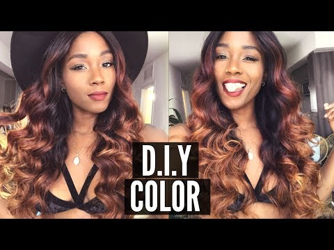 HOW TO GET THE PERFECT FALL HAIR COLOR WITH LAKIHAIR.COM | PUMPKIN SPICE INSPIRED COLOR