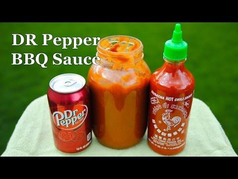 Dr Pepper Sriracha BBQ Sauce