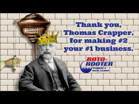 Thomas Crapper Day | Roto-Rooter