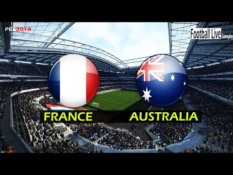 PES 2018 | FRANCE vs AUSTRALIA | Full Match & Amazing Goals | Gameplay PC