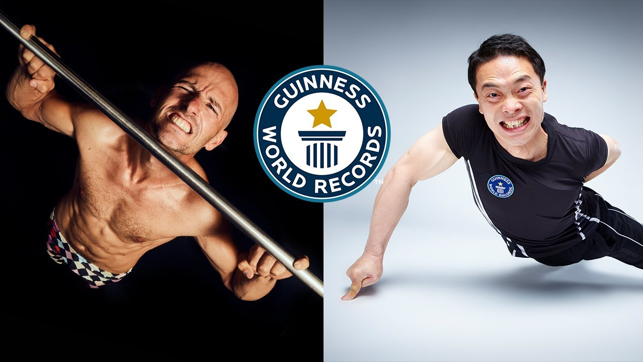 The most INSANE fitness records! - Guinness World Records