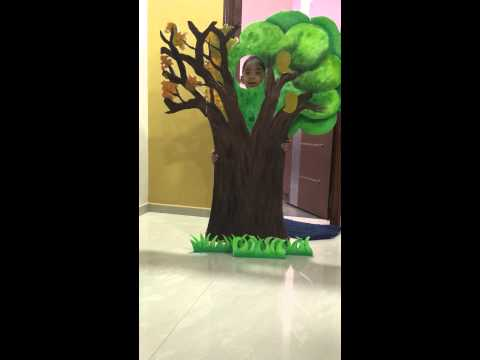 Tree fancy dress competition
