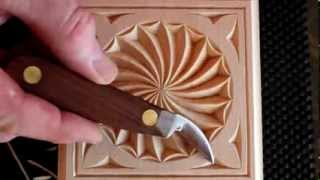 181 My Chip Carving - Carving a Swirl