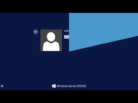 How to reset the Domain Admin Password under Windows 2012 Server?