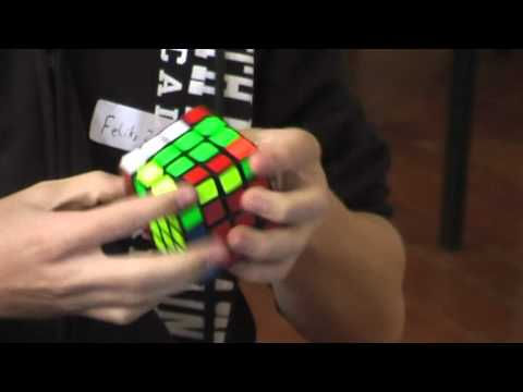 4x4 cube former world record: 31.05 seconds