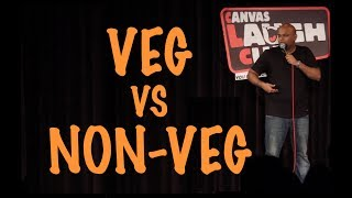 Vegetarians Vs Non-Vegetarians | Stand up Comedy by Nishant Tanwar