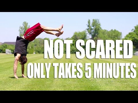 Learn How to BACKHANDSPRING IN ONLY 5 MINUTES!