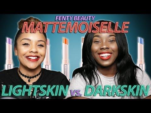 Fenty Beauty Mattemoiselle: Lightskin vs. Darkskin Matte Lipstick Comparison (All Shades)