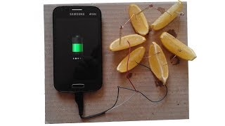 How To Charge Phone With a Lemon
