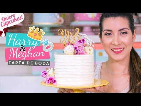 TARTA DE LA BODA REAL | PRÍNCIPE HARRY Y MEGHAN MARKLE | Quiero Cupcakes!