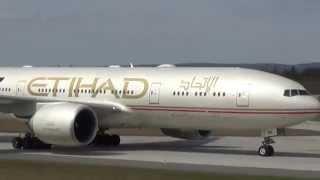 Etihad Fast & Furious 777 at FRA!