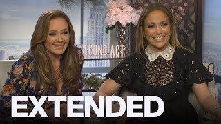 Leah Remini, Jennifer Lopez On Being BFFs In