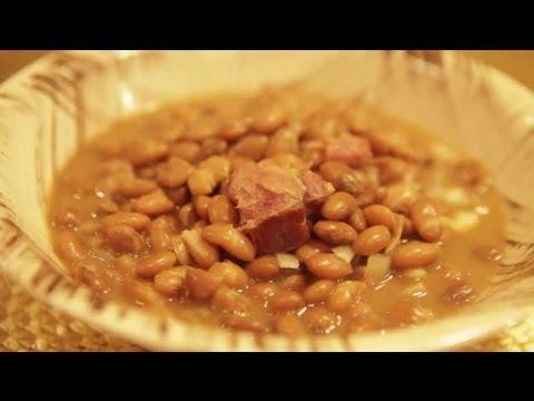 How to Cook Pinto Beans & Ham Hocks : Latin Cuisine