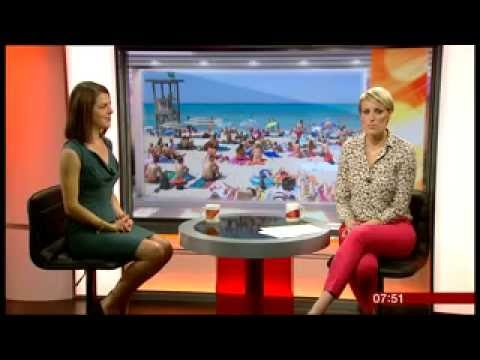 Hannah chats to BBC Breakfast about travel insurance