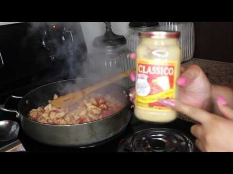 Kooking with Kooch: Spicy Shrimp & Chicken Pasta