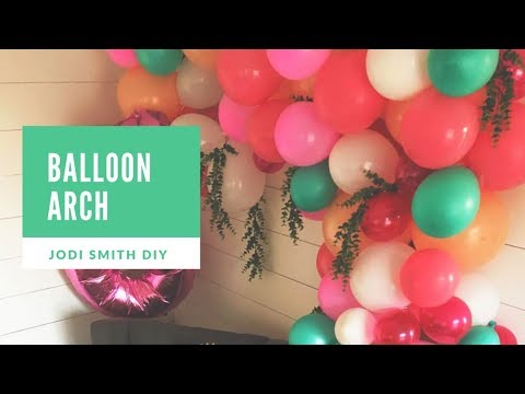 DIY Balloon Arch Tutorial