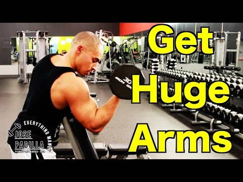 HUGE Arms Workout | GAIN HUGE MASS FAST