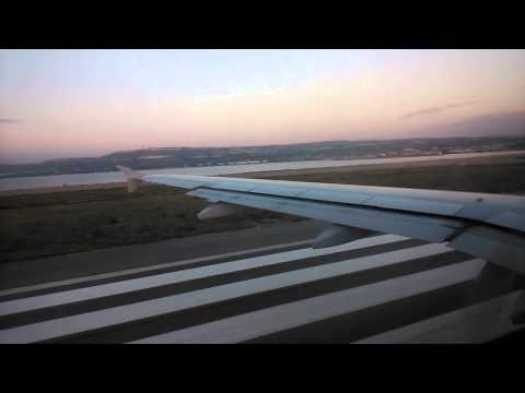 Departure from Marseille airport