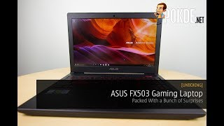 [UNBOXING] ASUS FX503 Gaming Laptop