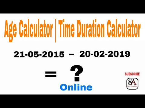 How to find number of days /months/year in between two dates/loan period calculator(easy method )