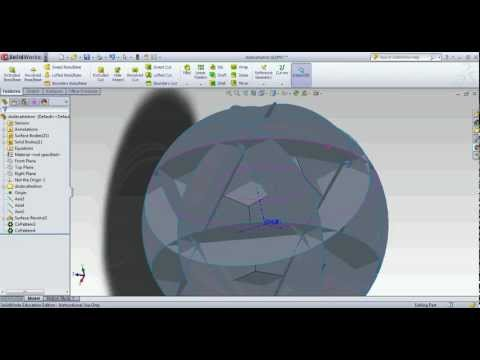 How to make a megaminx in solidworks, round two,