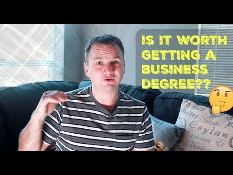 Why you should and shouldn't get a business degree
