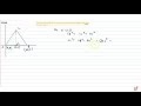 Find the coordinates of the vertices of an equilateral triangle of side    2a as shown in Figur...