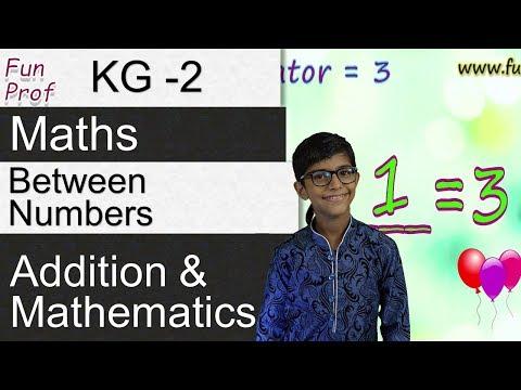 Kindergarten 2 (KG2 or K2) Between Numbers - Kids-Teaching-Kids