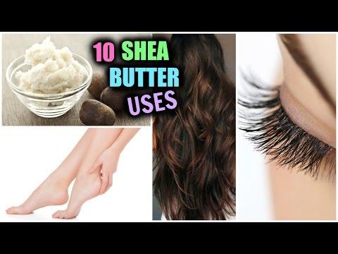 10 Beauty Benefits of Shea Butter │ Soft Smooth Skin & Hair, UnderEye Circles, Long Eyelashes!