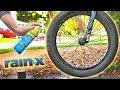 I Sprayed Rain-X on my BMX Tires, And This Happened!