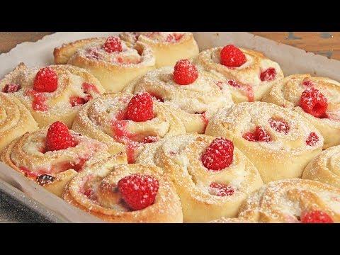 Raspberry Cheesecake Rolls Recipe | Episode 1246