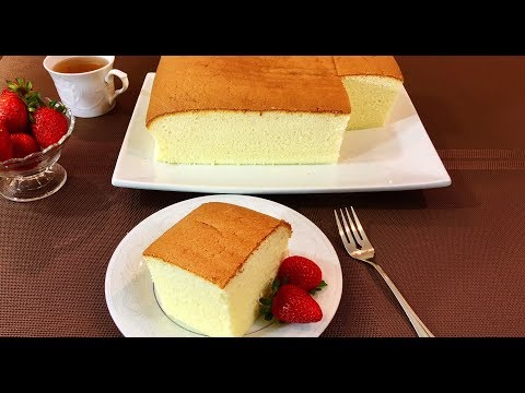 How to make a Perfect Sponge Cake - Original Cake Recipe