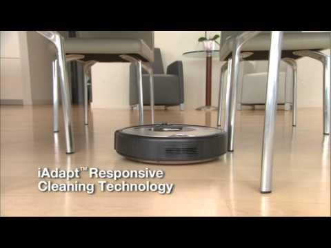 How iRobot Roomba® Vacuum Cleaning Robot Works