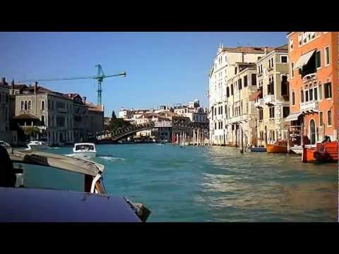 Water taxi ride to Cruise Ship Terminal in Venice Italy by jonfromqueens