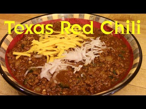 Real Texas Red Chili Recipe Tutorial S2 Ep279