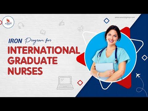 IRON Program for International Graduate Nurses