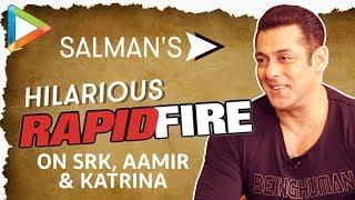 Salman Khan's DHAMAKEDAR Rapid Fire On Shah Rukh Khan, Aamir Khan & Katrina Kaif   NOTEBOOK