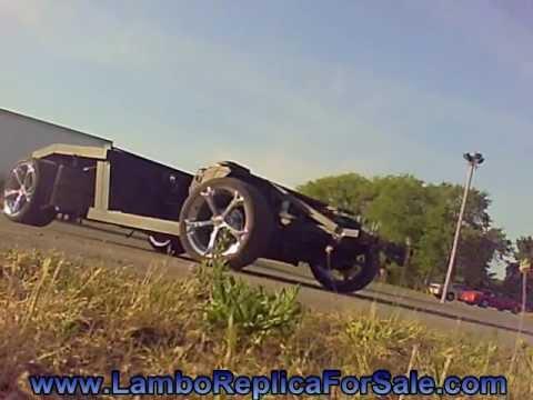 Lamborghini Reventon Replica Chassis with V8: Testing Muffler Options - Borla Boomer Muffler