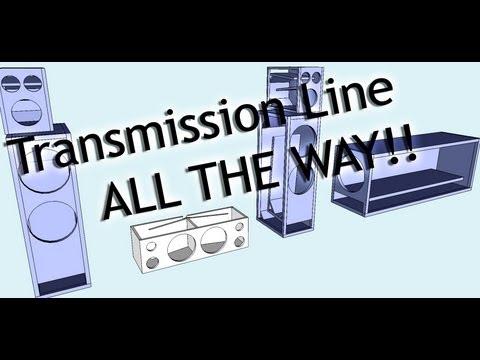 DIY T-line surround sound setup - STAGE 1
