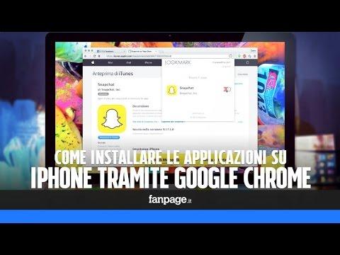 Come installare le app su iPhone e iPad tramite Chrome