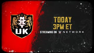 WWE NXT UK arrives on WWE Network today at 3 ET