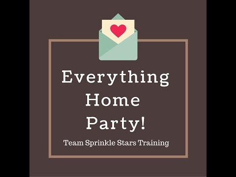 Everything Home Party! TSS Training