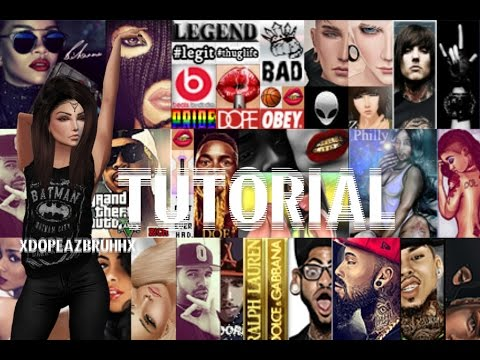 How to get and put badges on your profile on IMVU!!