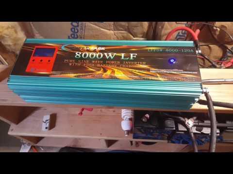 Power Jack inverter with 200 cfm cooling fan