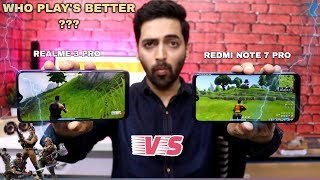 Realme 3 Pro vs Redmi Note 7 Pro - Fortnite Gameplay Test [Low Medium Or High]
