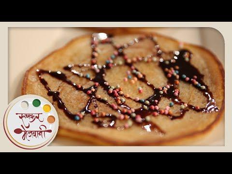 Eggless Pancakes - Recipe by Archana For Kids - Quick & Easy Breakfast
